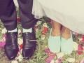 Legs bridal, tinted